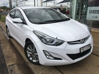 2015 Hyundai Elantra MD3 SE White Sports Automatic.
