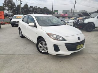 2013 Mazda 3 BM5476 Neo SKYACTIV-MT White 6 Speed Manual Hatchback