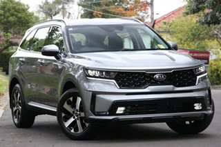 2020 Kia Sorento MQ4 MY21 Sport 7 Seat Steel Grey 8 Speed Auto Dual Clutch Wagon.