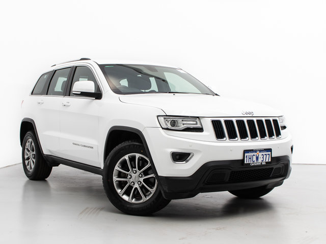Used Jeep Grand Cherokee WK MY14 Laredo (4x2), 2014 Jeep Grand Cherokee WK MY14 Laredo (4x2) White 8 Speed Automatic Wagon