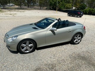2007 Mercedes-Benz SLK350 R171 07 Upgrade Silver 7 Speed Automatic G-Tronic Convertible.