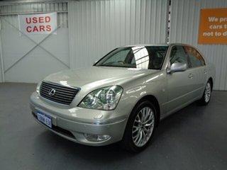 2002 Lexus LS UCF30R LS430 Silver 5 Speed Automatic Sedan.