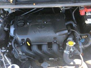 2014 Toyota Yaris NCP130R YR Silver 4 Speed Automatic Hatchback