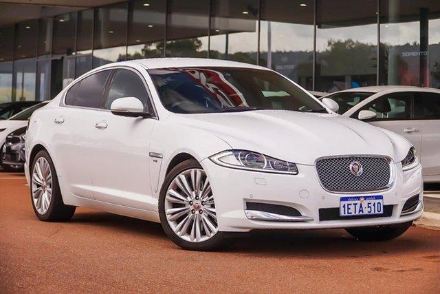 Used Jaguar XF X250 MY14 Luxury, 2014 Jaguar XF X250 MY14 Luxury White 8 Speed Sports Automatic Sedan