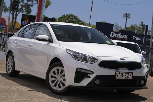 Used Kia Cerato BD MY21 S, 2020 Kia Cerato BD MY21 S Clear White 6 Speed Sports Automatic Sedan
