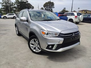 2018 Mitsubishi ASX XC MY19 ES 2WD ADAS Silver 1 Speed Constant Variable Wagon.