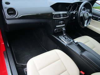 2013 Mercedes-Benz C-Class W204 MY13 C250 Estate 7G-Tronic + Avantgarde Red 7 Speed Sports Automatic