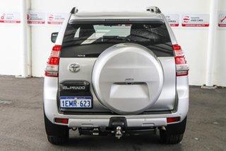 2014 Toyota Landcruiser Prado KDJ150R MY14 GXL Silver Pearl 5 Speed Sports Automatic Wagon