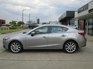 2015 Mazda 3 BM5238 SP25 SKYACTIV-Drive Silver 6 Speed Sports Automatic Sedan.