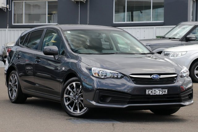 Demo Subaru Impreza G5 MY20 2.0i CVT AWD, 2020 Subaru Impreza G5 MY20 2.0i CVT AWD Magnetite Grey 7 Speed Constant Variable Hatchback