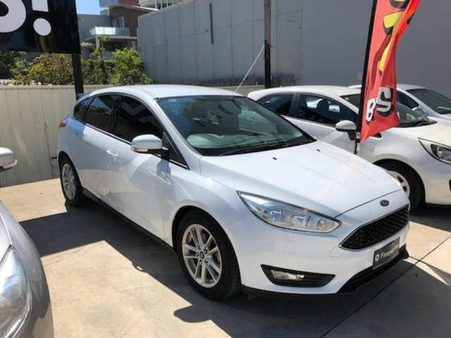 Used Ford Focus LZ Trend, 2016 Ford Focus LZ Trend White 6 Speed Automatic Hatchback