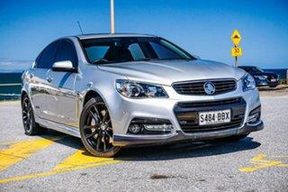 2014 Holden Commodore VF MY15 SS V Redline Silver 6 Speed Manual Sedan.