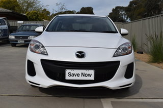 2011 Mazda 3 BL10F1 MY10 Neo Abalone White 6 Speed Manual Hatchback.