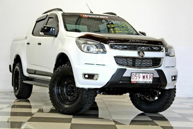 Used Holden Colorado RG MY16 Z71 (4x4), 2016 Holden Colorado RG MY16 Z71 (4x4) White 6 Speed Automatic Crew Cab Pickup