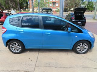 2010 Honda Jazz VTi Vibe Blue Automatic Hatchback.