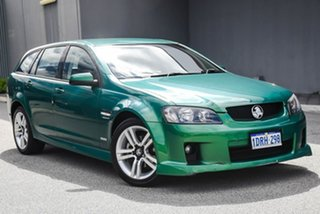 2010 Holden Commodore VE MY10 SV6 Sportwagon Green 6 Speed Sports Automatic Wagon.