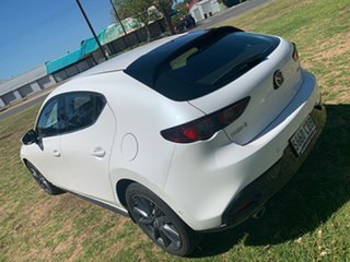 2019 Mazda 3 BP2HL6 G25 SKYACTIV-MT GT White 6 Speed Manual Hatchback