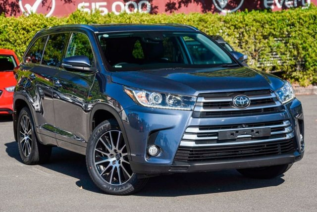 Used Toyota Kluger GSU55R Grande AWD, 2018 Toyota Kluger GSU55R Grande AWD Blue 8 Speed Sports Automatic Wagon
