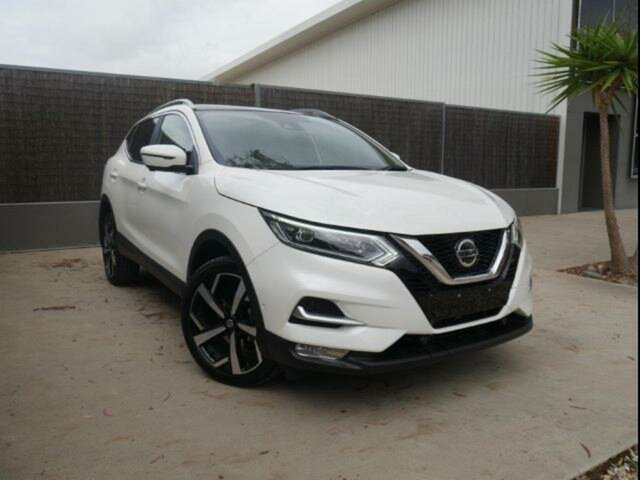 Used Nissan Qashqai J11 MY18 TI, 2019 Nissan Qashqai J11 MY18 TI White Continuous Variable Wagon