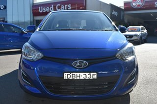 2015 Hyundai i20 PB MY15 Active Blue 6 Speed Manual Hatchback