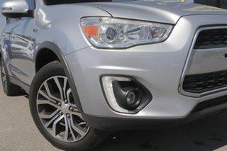 2015 Mitsubishi ASX XB MY15.5 LS Cool Silver 6 Speed Sports Automatic Wagon.