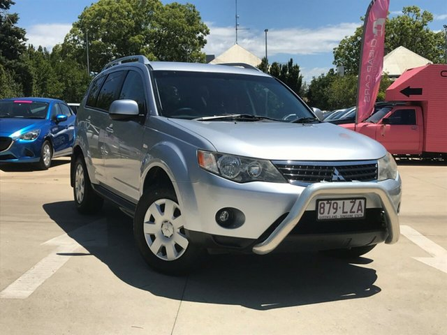 Used Mitsubishi Outlander ZG MY09 Activ, 2009 Mitsubishi Outlander ZG MY09 Activ Silver 6 Speed Constant Variable Wagon
