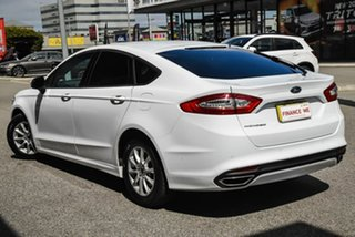 2017 Ford Mondeo MD 2017.00MY Ambiente White 6 Speed Sports Automatic Hatchback.