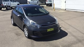 2016 Kia Rio UB MY16 S Grey 4 Speed Sports Automatic Hatchback.
