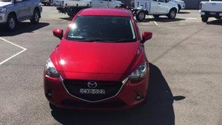 2014 Mazda 2 DJ2HAA Genki SKYACTIV-Drive Red 6 Speed Sports Automatic Hatchback.
