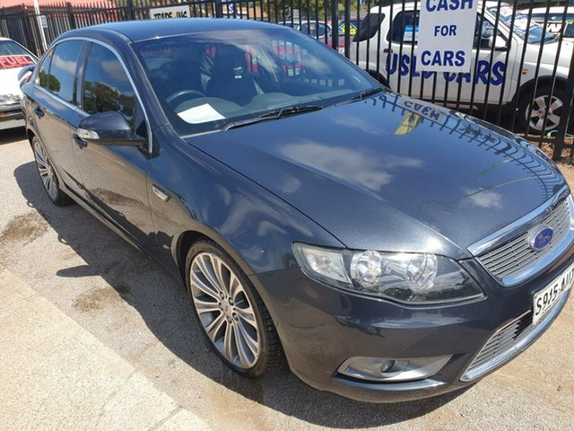Used Ford Falcon FG G6E Morphett Vale, 2011 Ford Falcon FG G6E Blue 6 Speed Sports Automatic Sedan