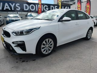 2018 Kia Cerato Hatch S Clear White Sports Automatic Hatchback.