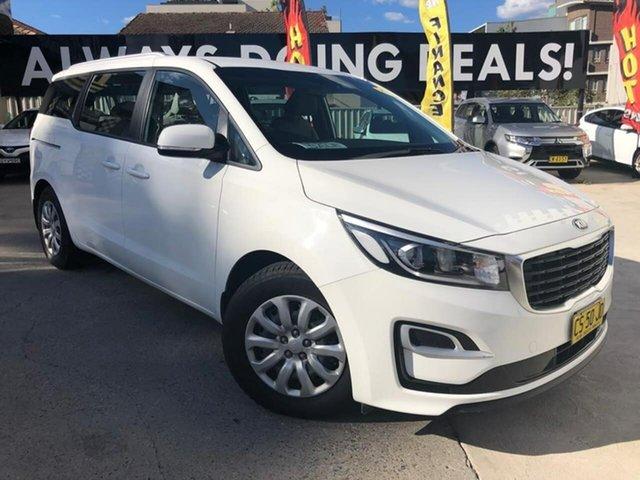 Used Kia Carnival  S, 2018 Kia Carnival S Clear White Sports Automatic Wagon