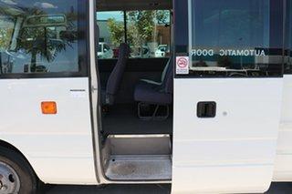 2009 Toyota Coaster XZB50R Deluxe French Vanilla Manual Midi Coach