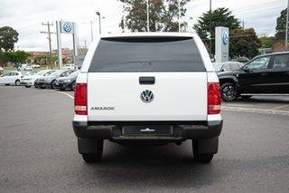 2019 Volkswagen Amarok 2H MY19 TDI550 4MOTION Perm Core White 8 Speed Automatic Utility
