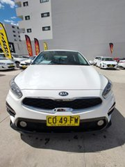 2018 Kia Cerato Hatch S Clear White Sports Automatic Hatchback