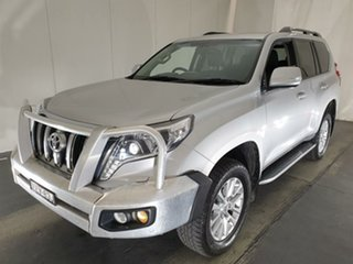 2014 Toyota Landcruiser Prado KDJ150R MY14 VX Silver 5 Speed Sports Automatic Wagon.