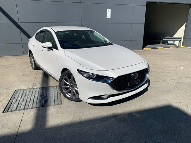 New Mazda 3 BP2SLA G25 SKYACTIV-Drive Evolve, 2020 Mazda 3 BP2SLA G25 SKYACTIV-Drive Evolve Snowflake White 6 Speed Sports Automatic Sedan