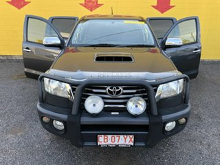 2013 Toyota Hilux KUN26R MY14 SR5 Double Cab Silver 5 Speed Manual Utility.