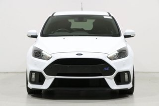 2016 Ford Focus LZ RS White 6 Speed Manual Hatchback.
