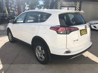 2018 Toyota RAV4 GX White Constant Variable Wagon.