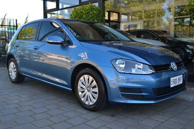 Used Volkswagen Golf VII 90TSI DSG, 2013 Volkswagen Golf VII 90TSI DSG Blue 7 Speed Sports Automatic Dual Clutch Hatchback