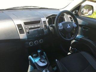 2009 Mitsubishi Outlander ZG MY09 Activ Silver 6 Speed Constant Variable Wagon