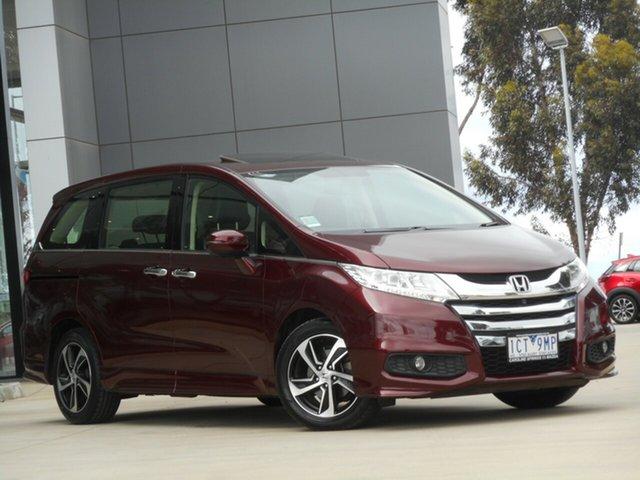 Used Honda Odyssey RC MY14 VTi-L, 2014 Honda Odyssey RC MY14 VTi-L Red 7 Speed Constant Variable Wagon