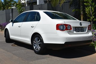 2008 Volkswagen Jetta 1KM MY08 FSI White 6 Speed Manual Sedan.