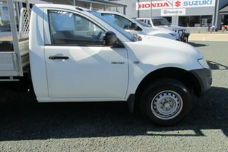 2011 Mitsubishi Triton MN MY11 GL 4x2 White 5 Speed Manual Cab Chassis