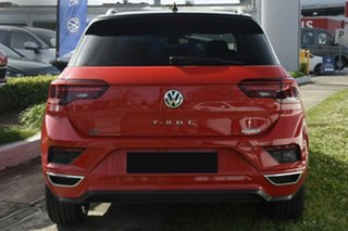 2020 Volkswagen T-ROC A1 MY20 140TSI DSG 4MOTION X Flash Red & Black Roof 7 Speed