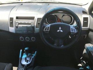 2009 Mitsubishi Outlander ZG MY09 Activ Silver 6 Speed Constant Variable Wagon.