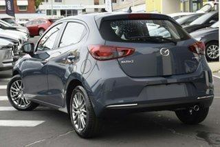 2021 Mazda 2 DJ2HAA G15 SKYACTIV-Drive Evolve Polymetal Grey 6 Speed Sports Automatic Hatchback.