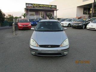 2002 Ford Focus LR LX Grey 5 Speed Manual Hatchback.