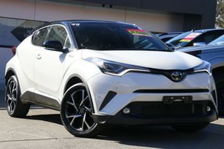 2018 Toyota C-HR NGX50R Koba S-CVT AWD Pearl 7 Speed Constant Variable Wagon.